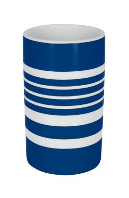 Tube stripe mugg blue